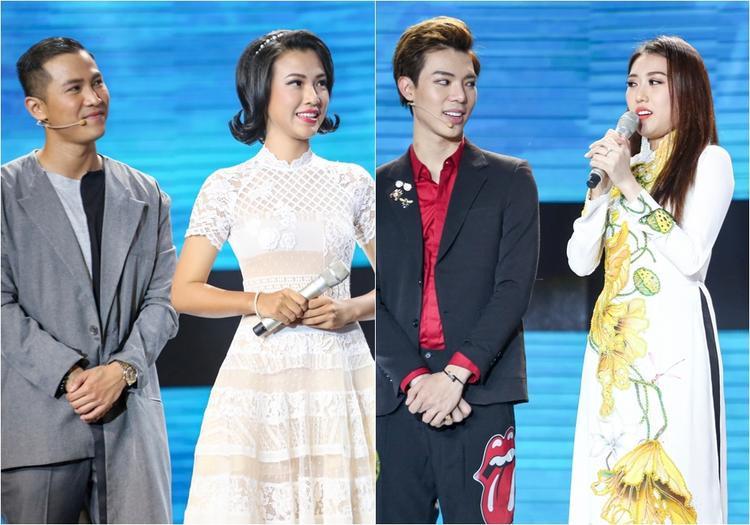 """Hoàng Oanh, Hoàng Kim đều đã có """"mối lương duyên"""" hoàn hảo nhất tại chương trình tuần này."""
