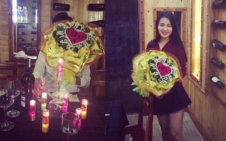 Quế Ngọc Hải thích tự tay chuẩn bị nến, hoa… để mang đến sự lãng mạn.