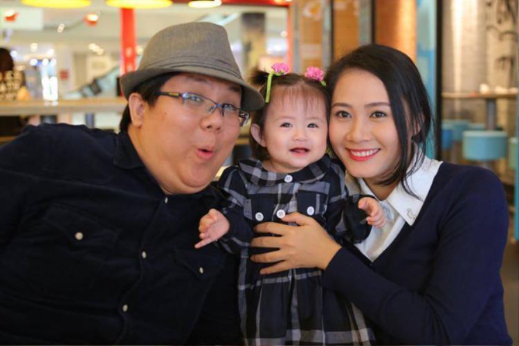 Gia đình hạnh phúc của Gia Bảo trước đây.