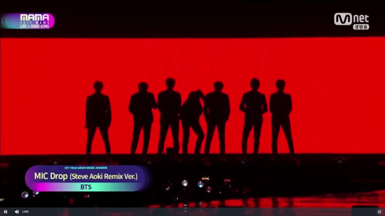 """Tất nhiên trong danh sách biểu diễn không thể bỏ sót MIC Drop Remix- """"siêu phẩm"""" mới nhất từ BTS."""