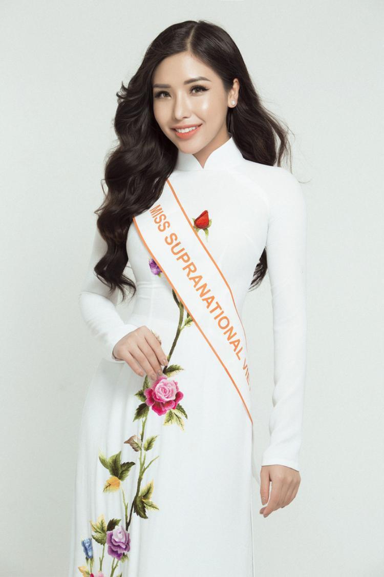 Đi thi trễ 10 ngày, Khánh Phương vẫn lọt top 25 Hoa hậu Siêu quốc gia