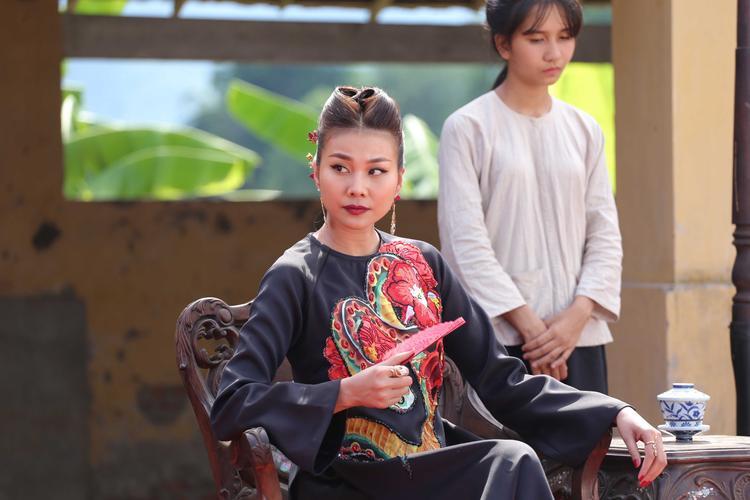 Thanh Hằng là hình tượng trung tâm của phim Mẹ chồng.