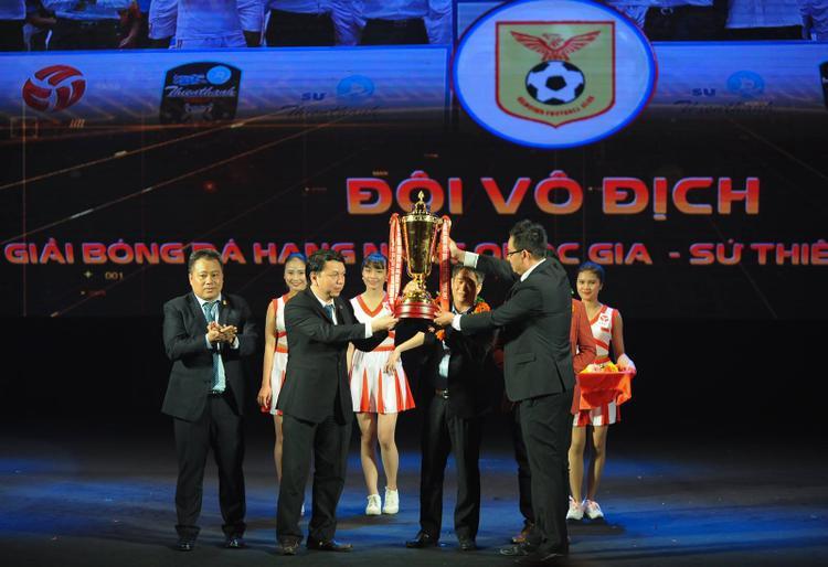 SLNA đã 3 lần giành Cúp Quốc gia.