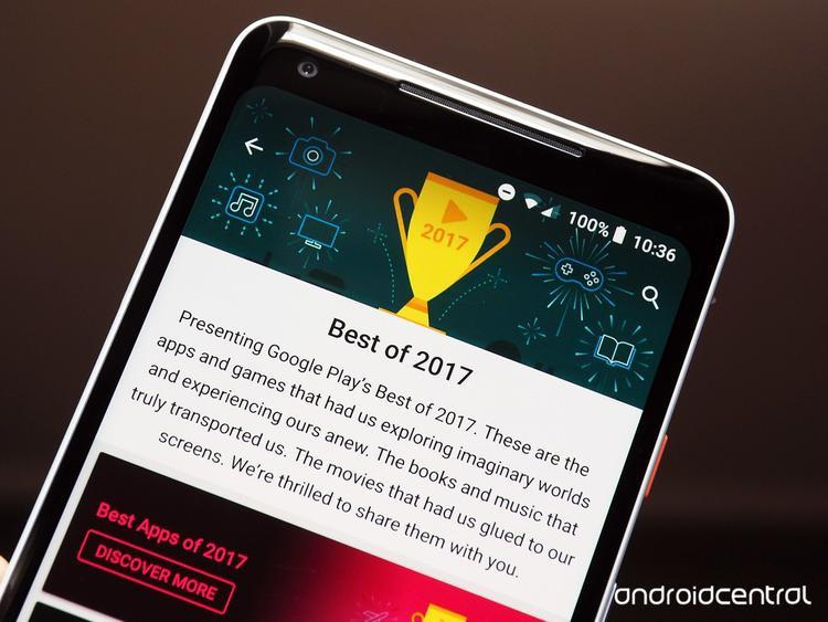 Google vừa công bố các ứng dụng, trò chơi và phim ảnh hay ho nhất năm 2017
