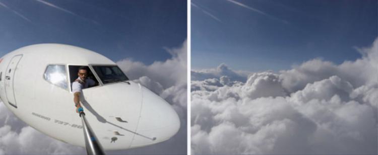 Với điều kiện thực tế giữa những chuyến bay, chụp những hình ảnh như thế này là điều không thể.