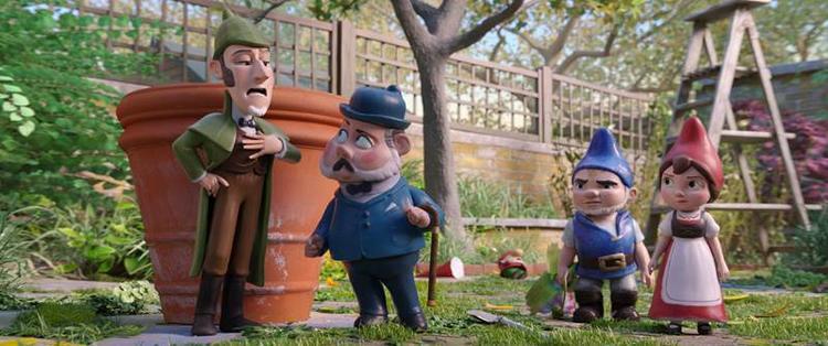 Tạo hình các nhân vậtđộc đáo vànhiềumàu sắccủaSherlock Gnomesmang đến sự thích thú đối với khán giả, đặc biệt là trẻ em