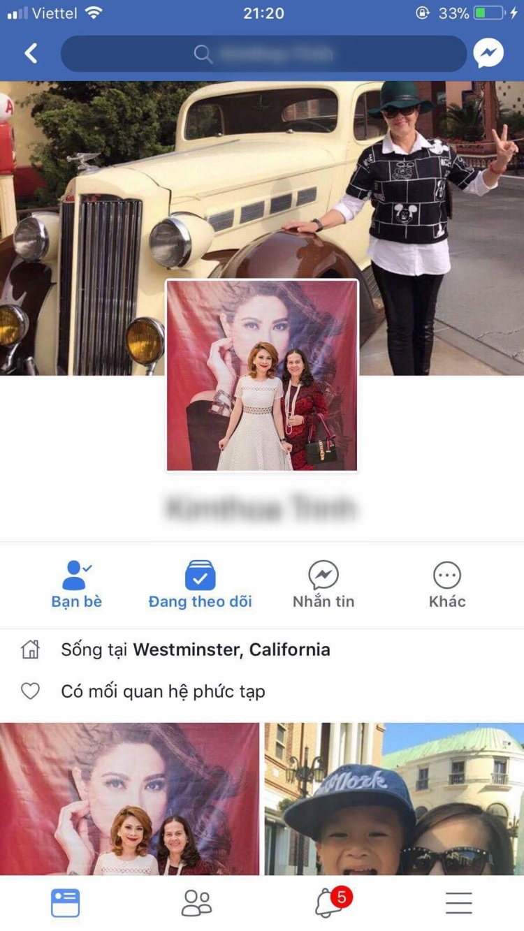 Mẹ ca sĩ Thanh Thảo bị hacker xâm nhập Facebook, lừa fan cả trăm triệu đồng