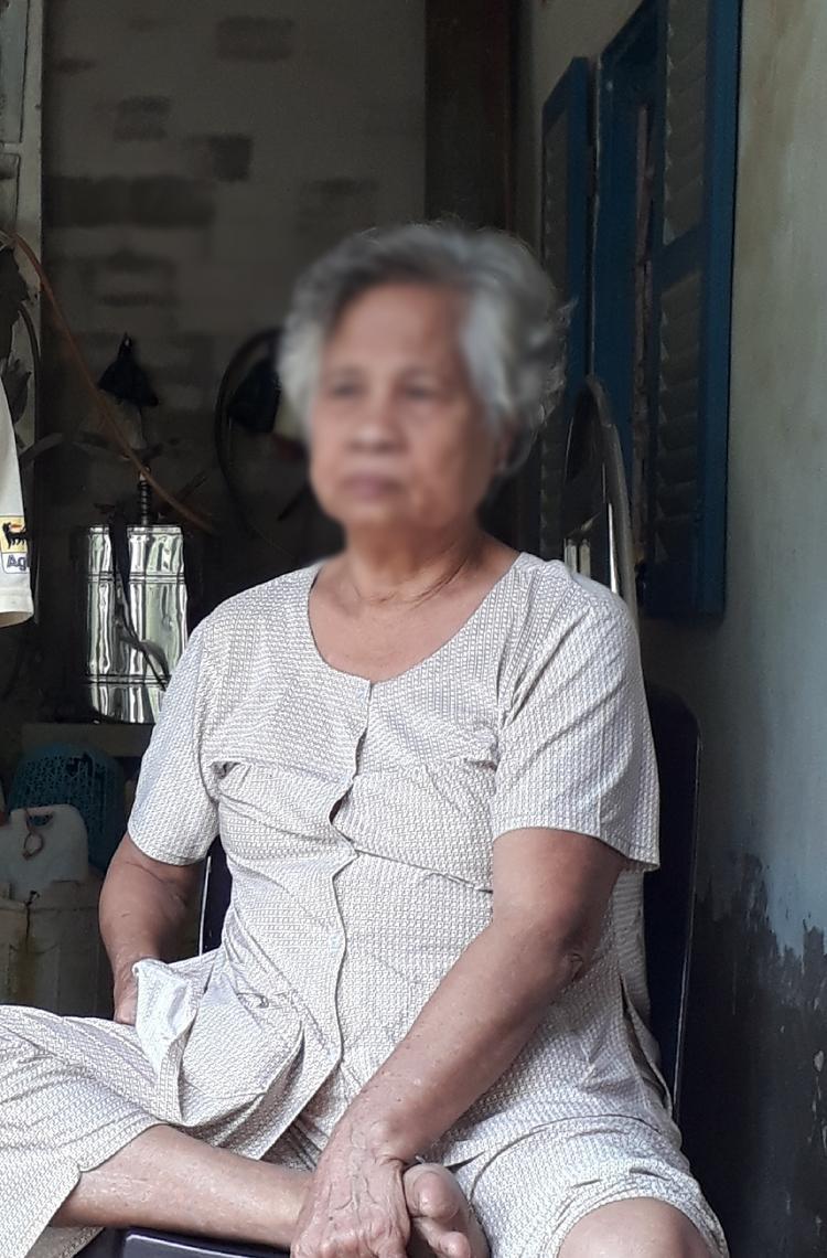 Bà Nguyễn Thị Thu (mẹ nạn nhân)