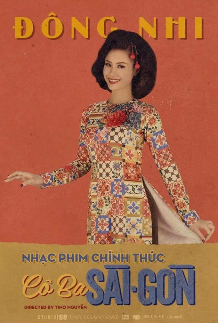 Đông Nhi chính là truyền nhân đời thứ 20 của nhà may Thanh Nữ trong phim Cô Ba Sài Gòn.