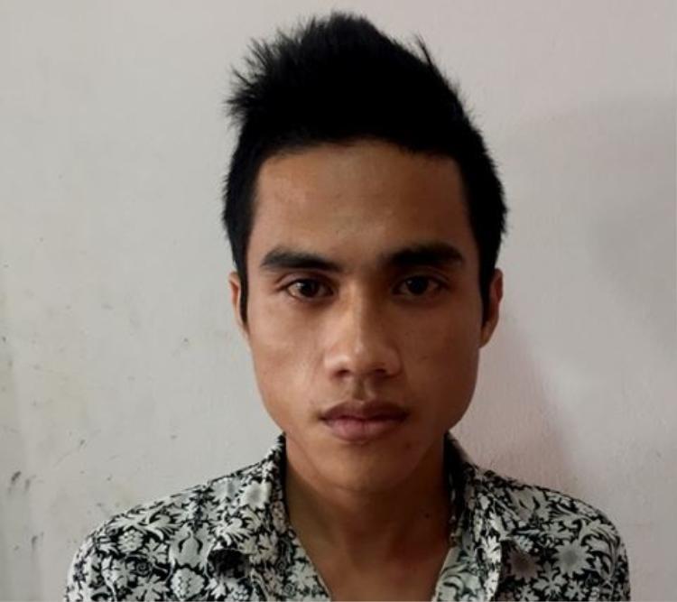 Nguyễn Thanh Hải tại cơ quan công an. Ảnh ANTĐ