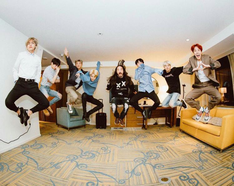 Xin chúc mừng các thành viên BTS!