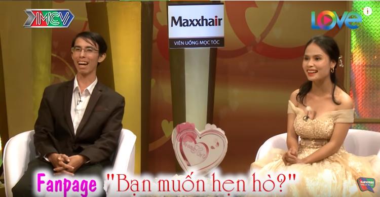 """Cả hai nên duyên vợ chồng qua fanpage """"Bạn muốn hẹn hò""""."""
