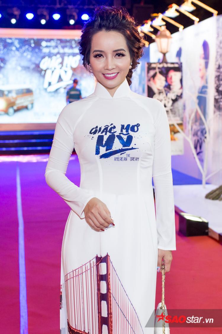 Nữ chính - Nhà sản xuất Mai Thu Huyền.