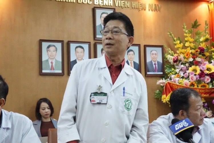 Bác sĩ Nguyễn Dư Dậu.