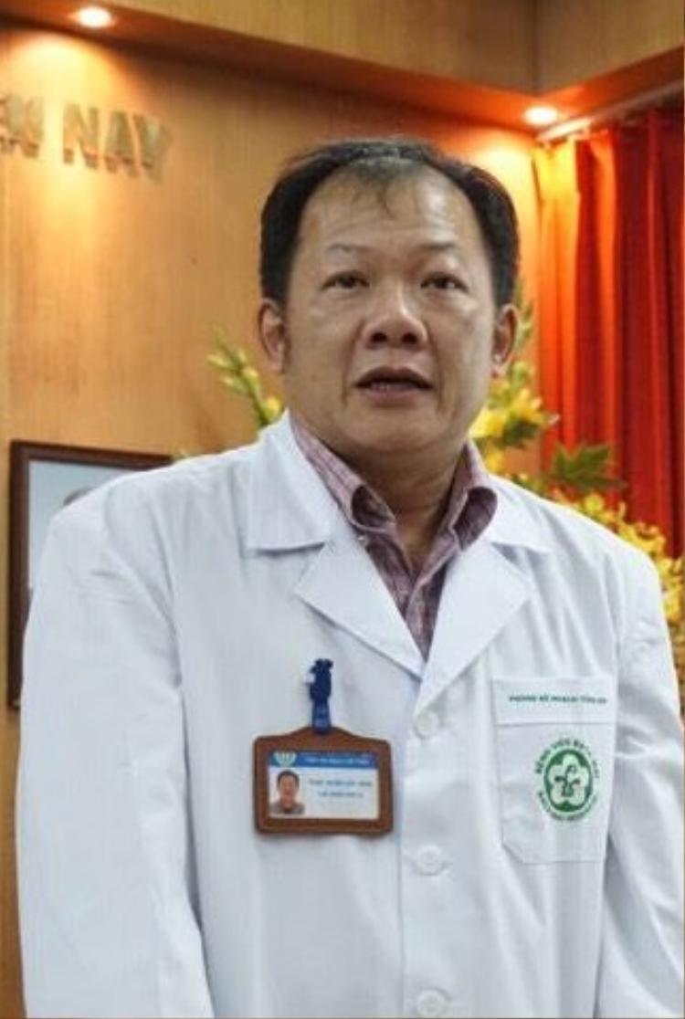 Ông Dương Đức Hùng, trưởng phòng kế hoạch tổng hợp.