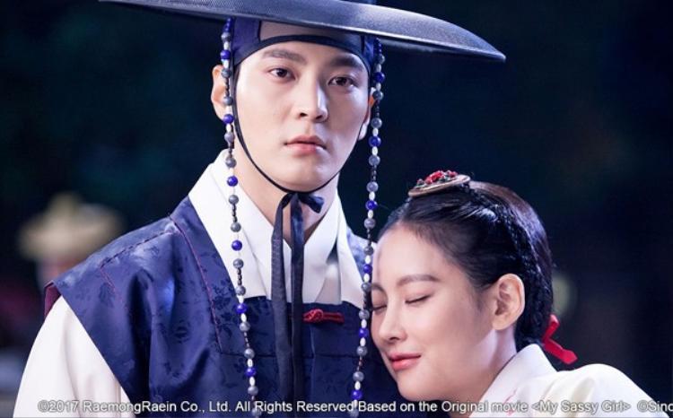 Vẻ mặt nghiêm túc của Joo Won trong phân cảnh vui tươi