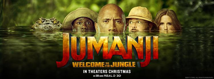 Jumanji: Món quà Giáng sinh tràn đầy tiếng cười và tinh thần phiêu lưu