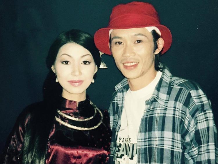 20 năm trước, hai nghệ sĩ Hoài Linh và Hà My có quãng thời gian yêu nhau.