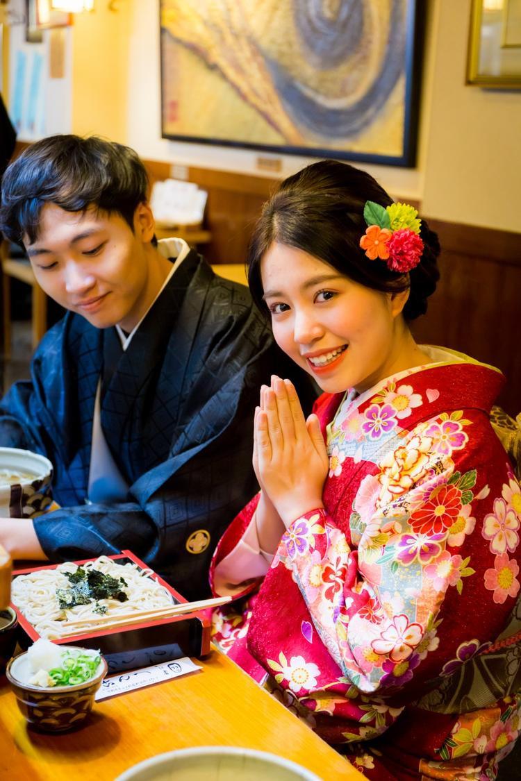 Thừa nhận hẹn hò, Mẫn Tiên liền tung bộ ảnh kimono cực đẹp với bạn trai