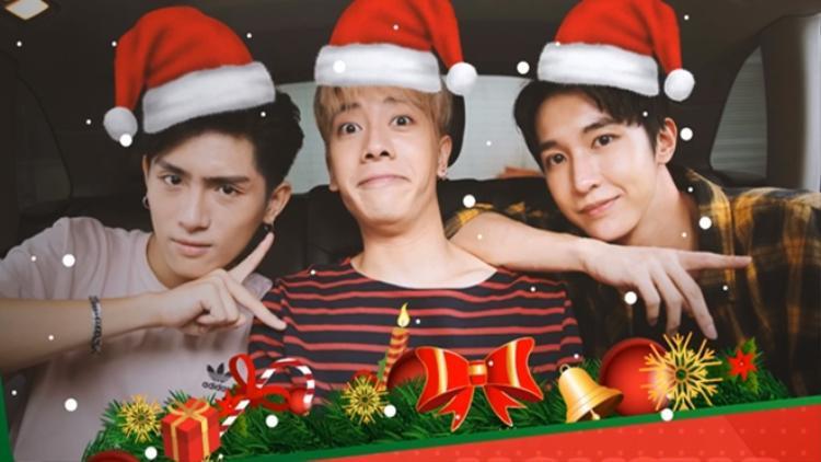 Nhóm MONSTAR góp mặt trong số phát sóng đặc biệt mừng Giáng sinh của SAOstar Quá Giang.