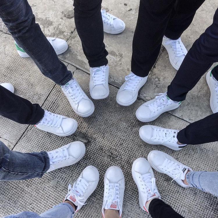 """Và đây là """"team trắng"""" đến từ Trường THPT Trần Cao Vân - Quảng Nam (Ảnh: Lý Gia Hân )"""