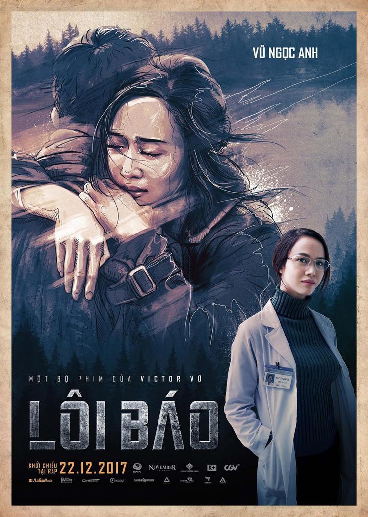 """Vũ Ngọc Anh trong """"Lôi Báo""""."""