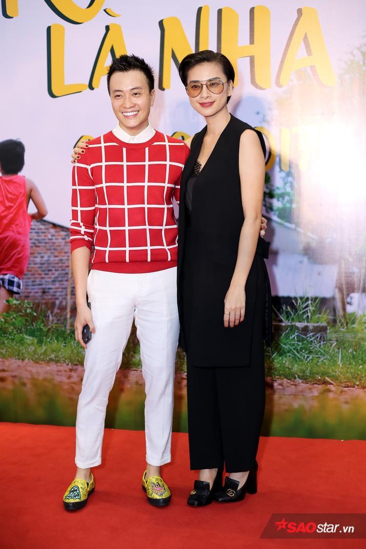 """Ngô Thanh Vân """"phá lệ"""" đến dự ra mắt phim."""
