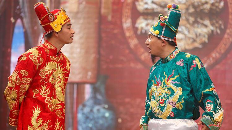 Nghệ sĩ Quang Thắng và Xuân Bắc.