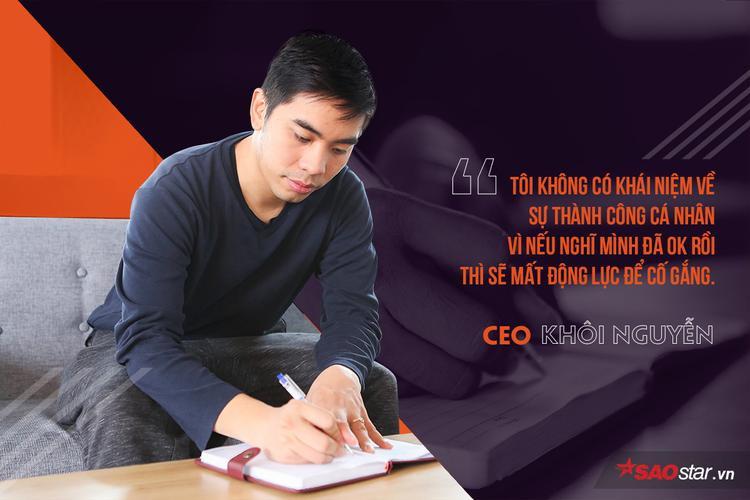 Theo học ngành Kỹ sư máy tính tại Học viện công nghệ Illinois (IIT) tại Mỹ, Khôi từng làm thực tập sinh tại công ty công nghệ lớn VTC, IDG.