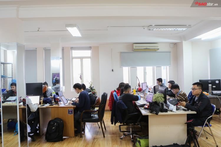 Văn phòng của công ty mới do Khôi Nguyễn sáng lập.