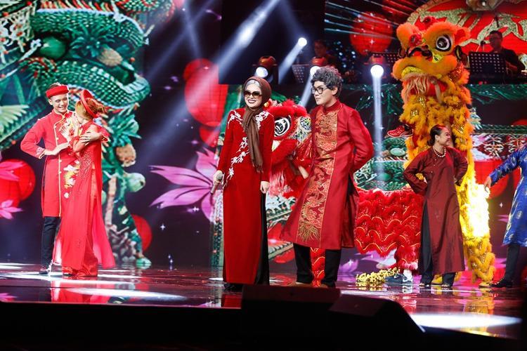 Tiết mục xuất sắc giành được số điểm tuyệt đối từ loạt giám khảo có mặt tại sân khấu.