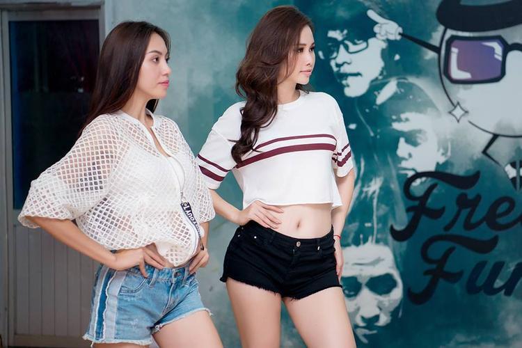 Hình ảnh mới nhất của Ngọc Út sau khi dừng lại tại Miss Universe Vietnam 2017.