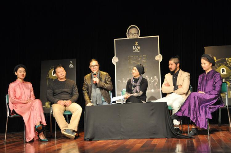 Đạo diễn Trần Lực và ước muốn mang vở kịch Quẫn lên sân khấu Nhà Hát Lớn Hà Nội