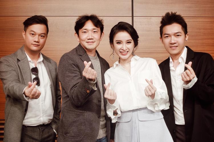 Đạo diễn Bảo Nhân - Nam Cito và Angela Phương Trinh trong chuyến đi Hàn Quốc năm 2016.