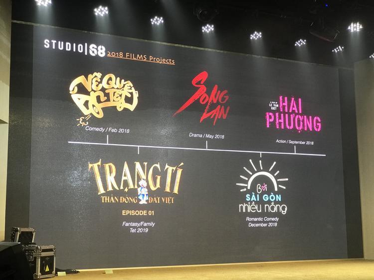 List phim do Ngô Thanh Vân giới thiệu.