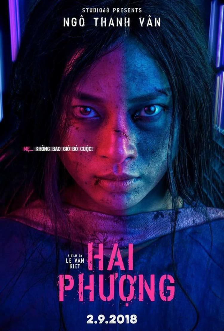 Poster phim hành động 'Hai Phượng' của Ngô Thanh Vân 'chất lừ' như bom tấn Hollywood