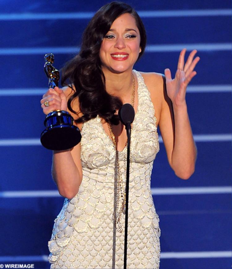 Nữ diễn viênMarion Cotillard.