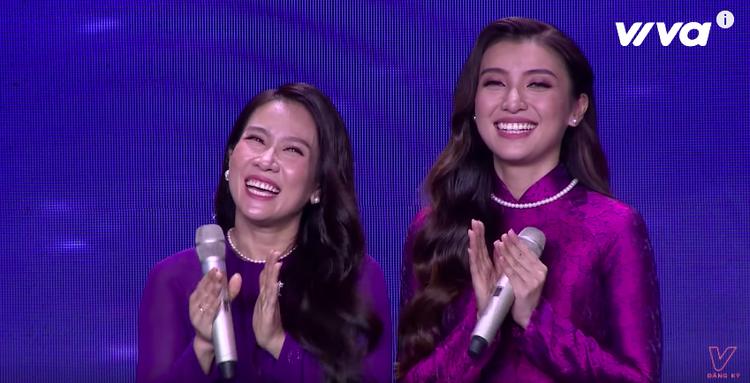 Tiêu Châu Như Quỳnh nhận được sự hỗ trợ đắc lực từ NSƯT Vân Khánh trong ca khúc Huế.