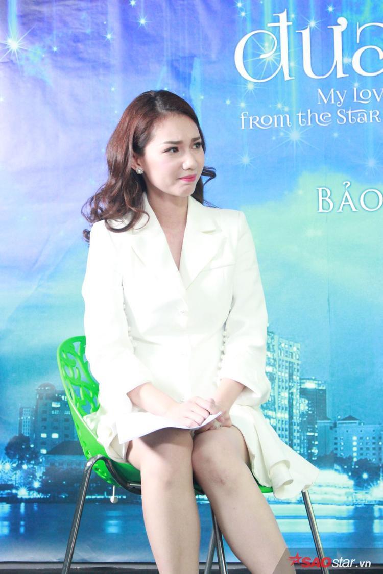 MC Quỳnh Chi thử sức với vai bạn thân Mợ chảnh (Yoo In Na đóng)