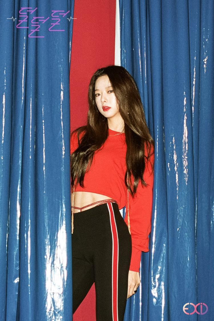 Tham gia thu âm và chụp photoshoot những Solji vẫn không thể quảng bá album Full Moon cùng EXID hồi tháng 11 vừa qua.
