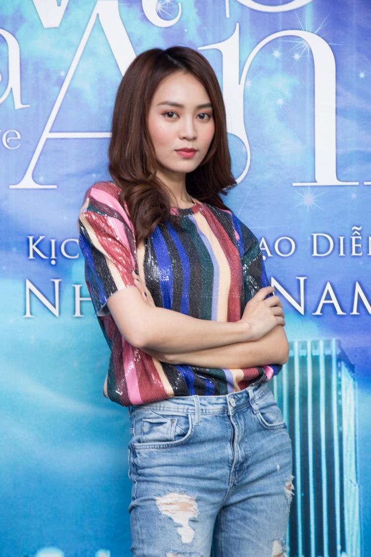 Nữ diễn viên Cô Ba Sài Gòn ngày càng trưởng thành hơn về kỹ năng diễn xuất.