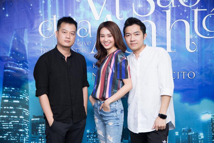 Lan Ngọc cùng bộ đôi đạo diễn Bảo Nhân - Nam Cito.