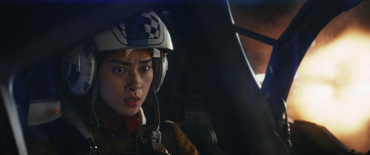 Ngô Thanh Vân trong vai Paige Tico của Star Wars.