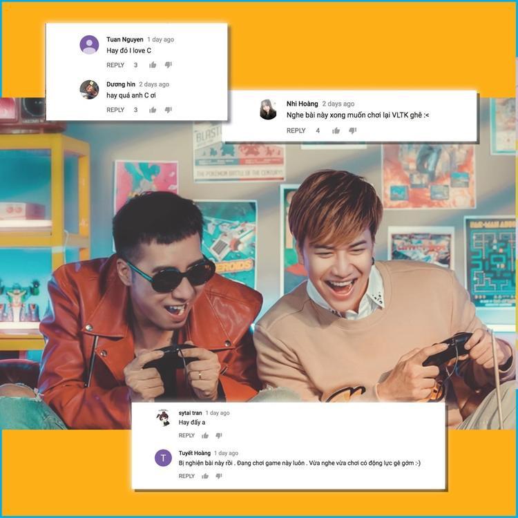 Nhiều fan còn cảm thấy háo hức và cũng muốn trải nghiệm Võ Lâm Truyền Kỳ mobile giống như Only C và Lou Hoàng trong MV.