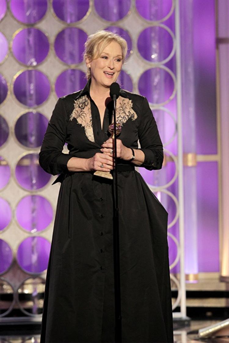 Nhận được 9 Quả cầu vàng ở hạng mục diễn xuất chỉ có thể là bà hoàng Meryl Streep