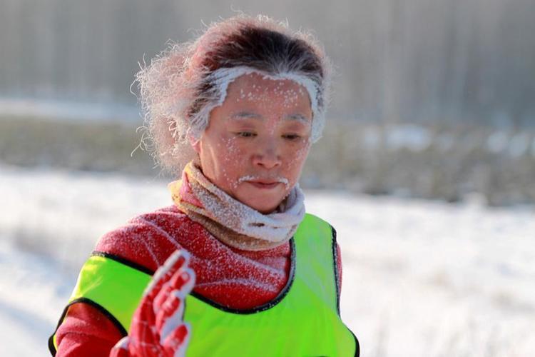 Ngày 7/1, thị trấn Nghi Xuân, Giang Tây tổ chức cuộc thi trượt tuyết. Thời tiết tại đây vào ngày hôm qua xuống tới -20 độc C.