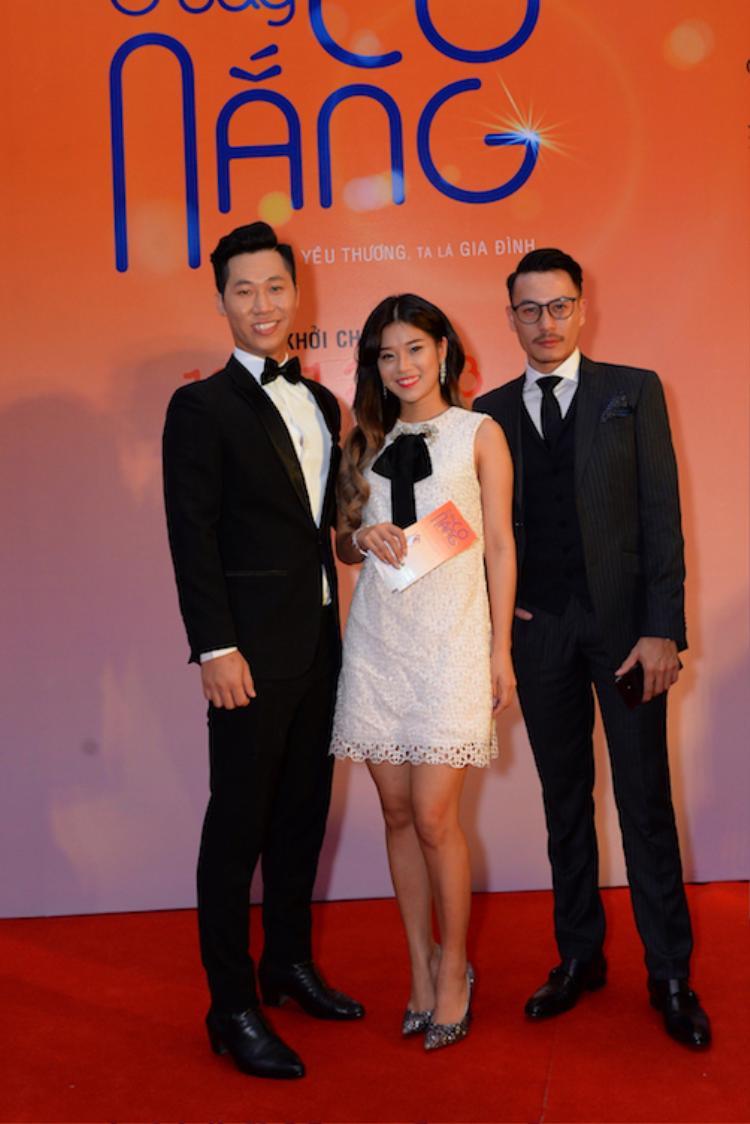 Đạo diễn Đỗ Nam, Hoàng Yến Chibi, Trương Thanh Long.
