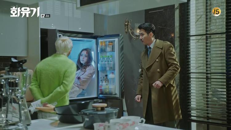 Cương thi được Oh Gong thu phục về… tủ lạnh nhà Woo Ma Wang.