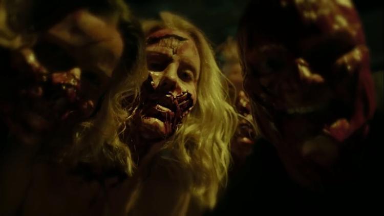 Những khuôn mặt bị hoại tử.