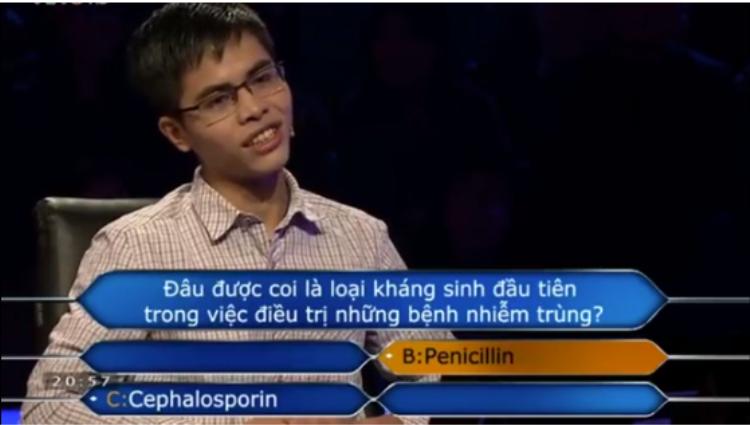 Với câu trả lời này, Hiếu đã có chắc chắn trong tay 22 triệu